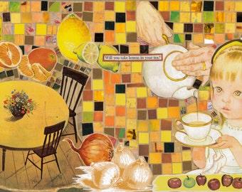 Lemon in Your Tea?