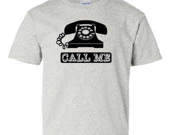 Old-School Vintage / Retro Telephone T-Shirt