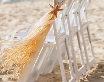 Beach Wedding Aisle Decor Beach Chapel Starfish Wedding