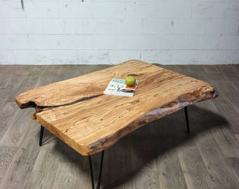 Live Edge Spalted COFFEE Table - Natural - Modern - Timeless