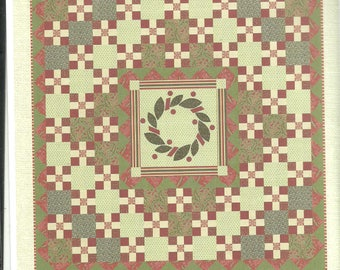 Noel Garland Quilt Pattern by French General