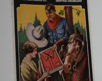 Stockman & Farmer Supply Magazine Cover, Advertising 1927
