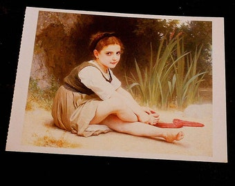 Vintage Adolphe-William Bouguereau Postcards 1995