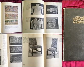 A Book of Old Embroidery 1921 Louisa F. Pesel E.W. Newberry Textiles Stitchery