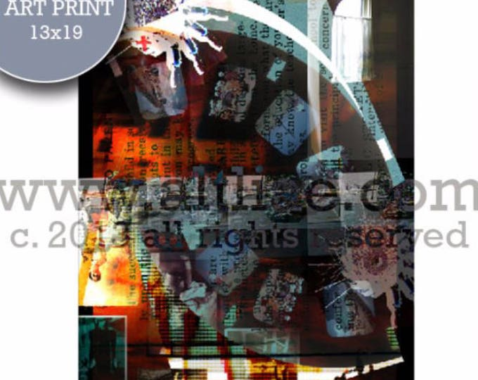 NURSE - Edition Art Print of an original digital collage