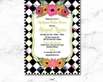 MacKenzie-Childs Bridal Shower Invitation Printable - Wedding