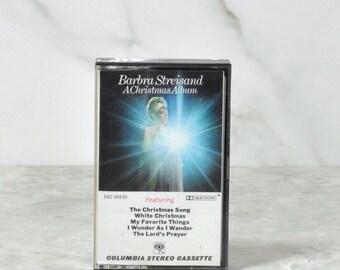 Vintage Cassette Tape Barbra Streisand Christmas Music 1967