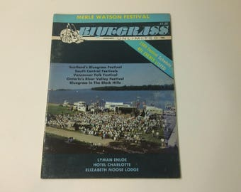 Bluegrass Unlimited Vol. 23, No. 7 (January 1989) - IMBA Fan Fest photo cover ~ vintage 80s Music Magazine back issue