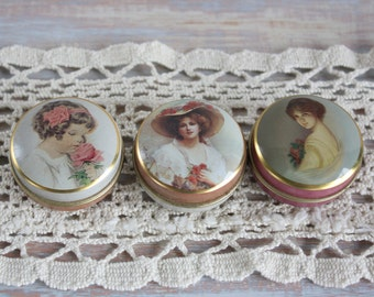 Victorian style tins- Free Shipping