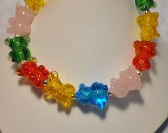 Gummi Bear Stretch Bracelet