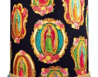 Our Lady of Guadalupe Mexican Decor Lampshade or Ceiling Light Shade - Unique Lamp Shades