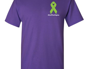 End The Stigma Cotton T-shirt, Supports NAMI with purchase