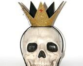 Queen of Hearts Crown // Alice in Wonderland Crown // QOH Crown // Gold Crown // by Born TuTu Rock