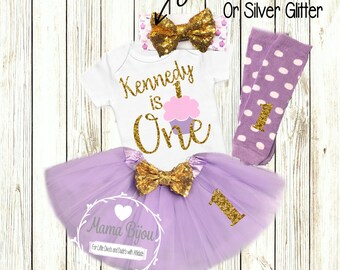 1st Birthday Girl Outfit Personalized Birthday Girl Clothing Clothes 1st 2nd 3rd 4th Birthday Outfit Customize Colors- SHIRT ONLY