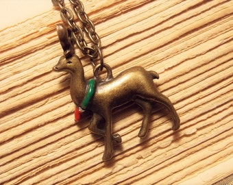 Reindeer Charm Necklace