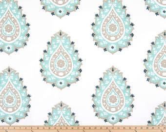 SUMMER SALE! NEW Damask Gunmetal Beach Glass shown, Curtains 24W or 50W x 63, 84, 90, 96 or 108L ⋘ Choose from 100s of Fabrics