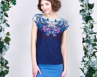 Easter Fairy Tale - chiffon top