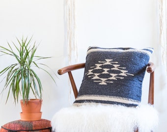 Handmade Mexican Slate Pillow Cover