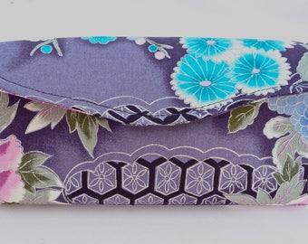 NCW Clutch Wallet Kimono Print