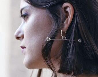 Desi single earring