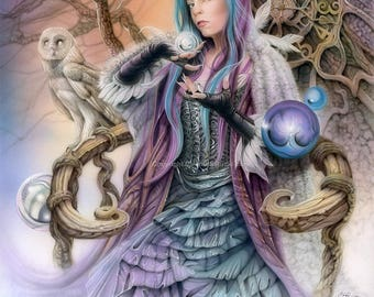Goblin Queen Signed 11x14 Print