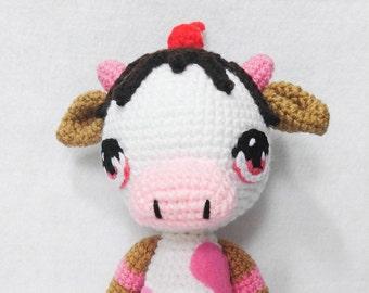 Milkshakes the Amigurumi Cow