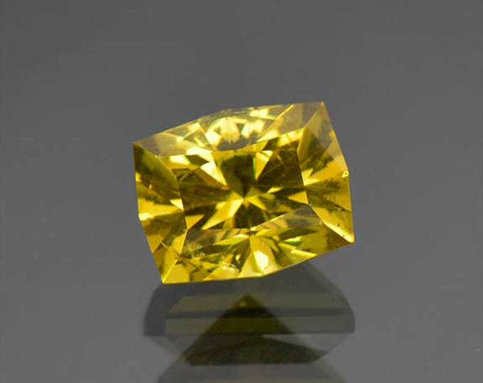 SALE EVENT! Stunning Lemon Yellow Apatite Gemstone from Tanzania 4.83 cts.