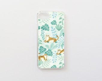 iPhone 7 Case - Tigers iPhone Case - Leopard iPhone Case - Jungle iPhone Case - Hard Plastic or Rubber