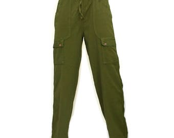 Traveller Cargo pants -  Multi pockets    - Men's working - Woman -   Hippie - Cargo - Fashion