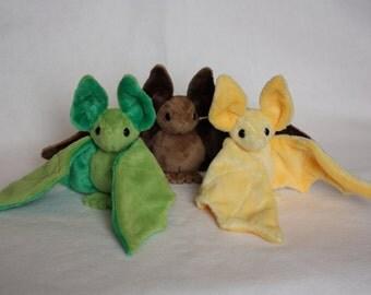 bat plush baby gift