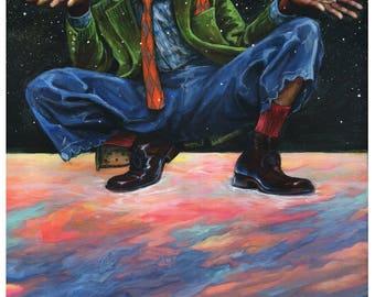 Outkast - Andre 3000 - SuperStankOmaticAlaFreshFantastic Art Print