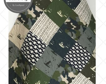 Baby Quilt Boy, Crib Bedding Duck Hunting, Baby Bedding Ducks, Dogs and Ducks, Camo Nursery, Baby Blanket Boy, Home and Living, Dog & Duck