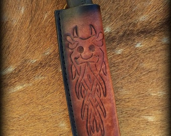 Norse Odin Bushcraft Knife Sheath