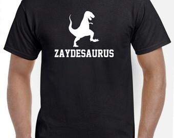 Zayde Shirt-Zadye Gift for New Zayde-Zaydesaurus Tshirt Funny Gift
