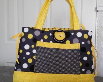 Polka Dot handbag/Tote