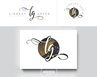gold glitter initials circle galaxy nutral businesscards  simple modern feminine branding- logo Identity artist makeup wedding photographer