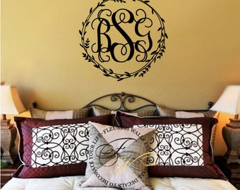 Personalized And Custom Vinyl Wall Decals By FleurishWalls On Etsy - Custom vinyl decals etsy