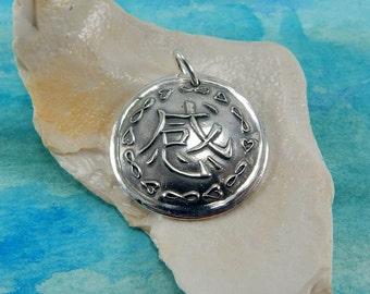 Your Design Jewelry, Customized Pendant, Logo Jewelry, Personalized Jewelry, Inspirational Jewelry, Fine Silver Pendant