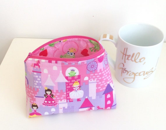 Princesses Makeup Bag Pencil Case