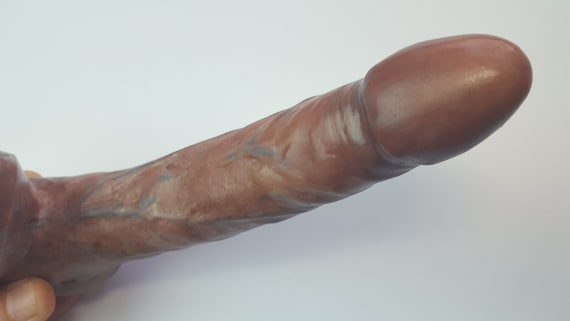 OMEN VII Dildo #1009-Hand Painted Silicone-Mature-Adult Sex Toy