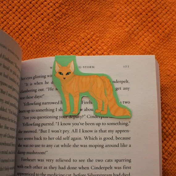 Ginger Cat Magnetic Bookmark