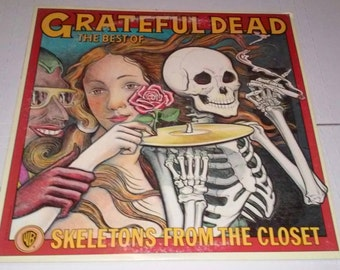 Grateful Dead Skeletons From The Closet The Best Of The Grateful Dead Record VG+ Free Shipping