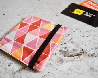 Porta tessere *PINK TRIANGLES* / card holder / business card / credit card