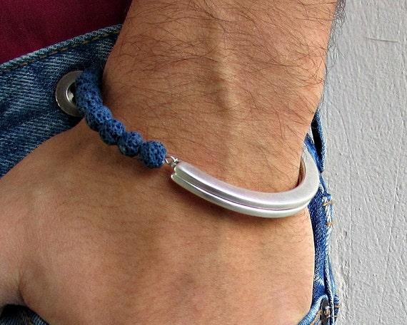Mens Gemstone Bracelet, Mens Bead Bracelet, Men's Bracelet, Mens Jewelry, Men's Gemstone Bracelet, Gift for Him, Man Bracelet