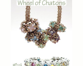 "Claudia Schumann ""Wheel of Chatons"" (Beading Pattern)"