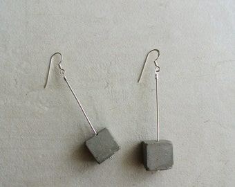 Cube earrings/ SALE
