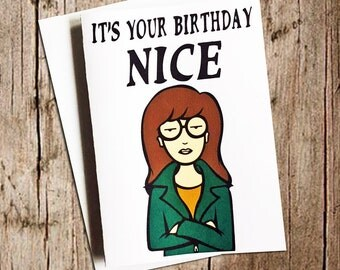 Daria is excited it's your birthday