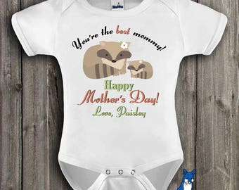Mothers day baby clothes,Mothers day bodysuit,Cute mothers day baby clothes,1st mothers day,Personalized mothers day,Custom kids T,GBS108