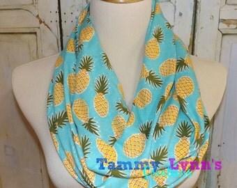 Pineapple Scarf Etsy