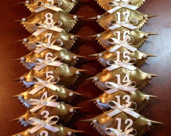 Maryland crab shell table numbers